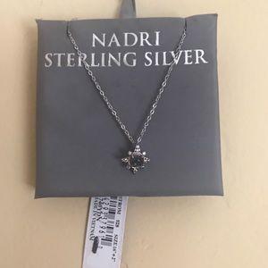 Nadri Sterling Silver Necklace